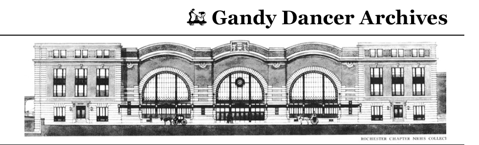 Gandy Dancer Archives