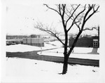 Athletic Center in Winter, Geneseo, N.Y. by Unknown