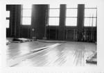 Gym Floor Repair, SUNY Geneseo. by Unknown
