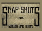 Snap Shots: Geneseo State Normal, 1918 by Geneseo State University of New York