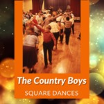 Square Dance with The Country Boys, South Hornell Grange, Hornell, NY, 1991 by James W. Kimball