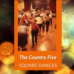 Square Dance with The Country Five, Clyde Grange, Clyde, NY, 1987 by James W. Kimball