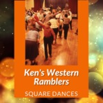 Square Dance with Ken's Western Ramblers, York Town Hall, York, NY, 1994 by James W. Kimball