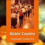 Square Dance with Kickin' Country, Conesus Legion Hall, Conesus, NY, 1987 by James W. Kimball