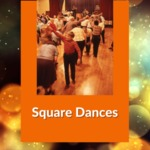 Square Dance at Oakfield Fire Hall, Oakfield, NY, 1989.