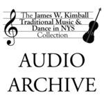 Albert Dohse Performance, Silver Lake, NY, 1986 by James W. Kimball