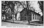 Wadsworth Library and Methodist Church, Geneseo, N.Y.