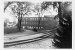 Rear of dormitory, Geneseo, N.Y.