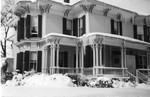 Wade House (Arethusa sorority) in March, Geneseo, N.Y.