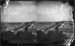 High Angle View of Main Street, Geneseo, N.Y.